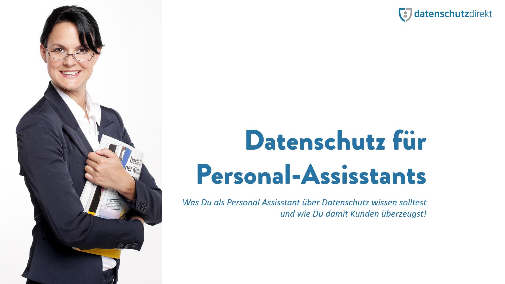 Datenschutz für Personal Assistants